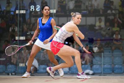 Dipika Pallikal vs Laura Massaro