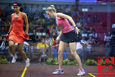 Womens semi-final: Laura Massaro vs Nicol David