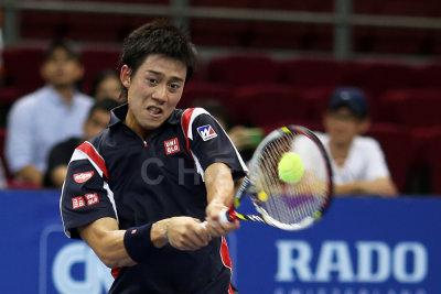 Quarter finals: Kei Nishikori (Japan)