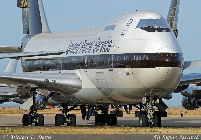 United Parcel Service - UPS Boeing 747-212B(SF) (N520UP)
