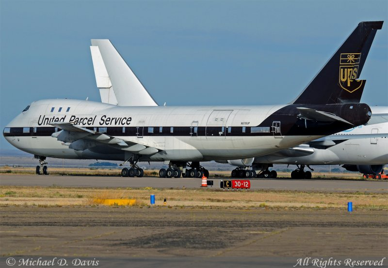 United Parcel Service - UPS Boeing 747-123(SF) (N676UP)