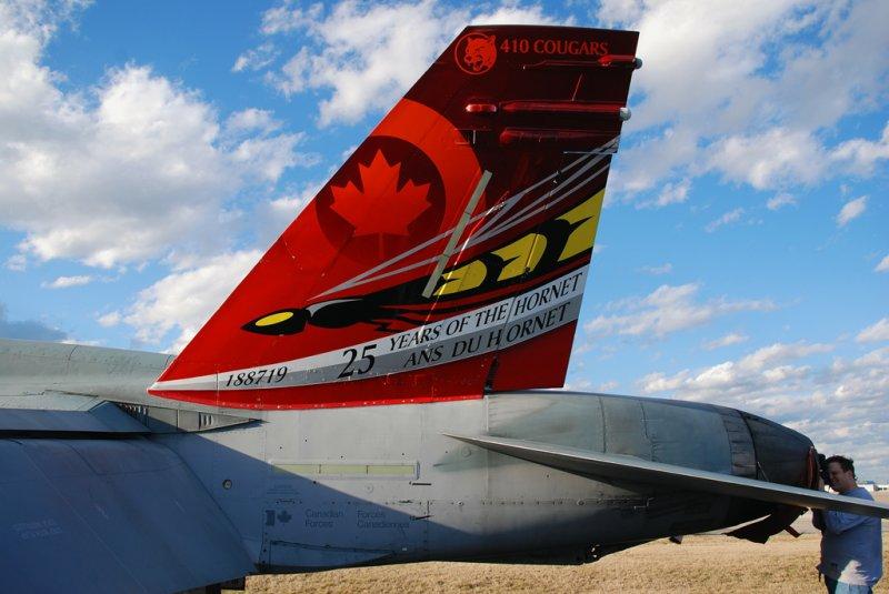 Canada-Air Force McDonnell Douglas CF-188A Hornet (CF-18A) (188719)