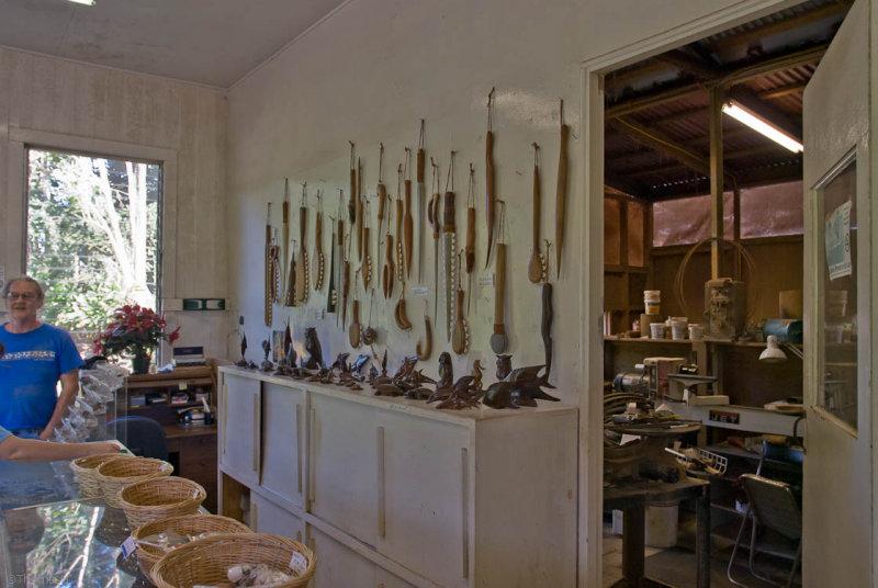 N1325 Paul Gebhart and his workshop