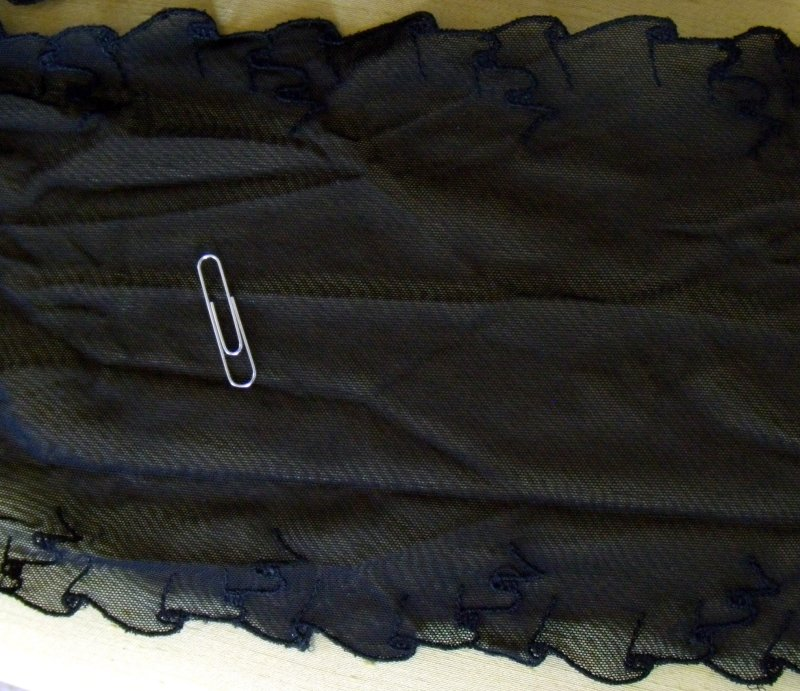 Fabric Depot Lace Black