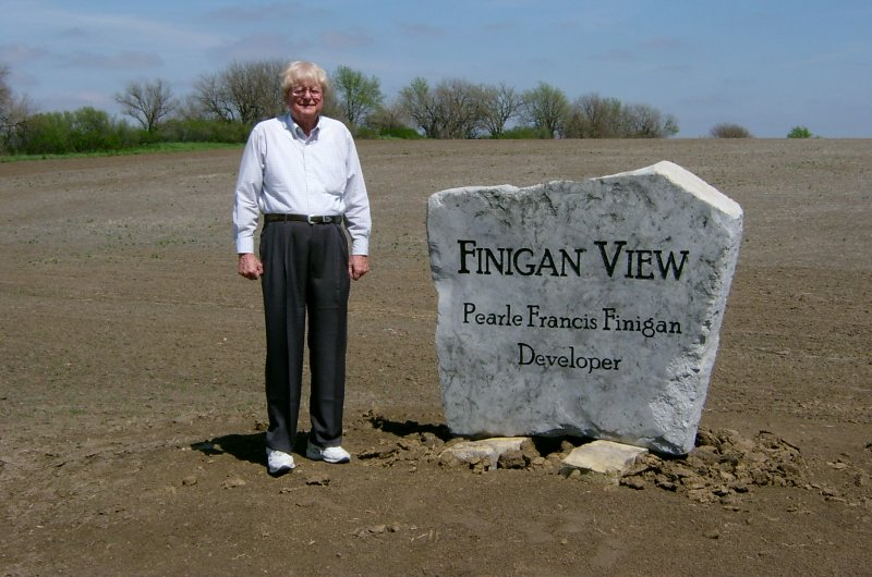 Finigan View Sign