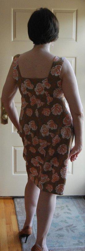 Roses & Caramel Back #1128