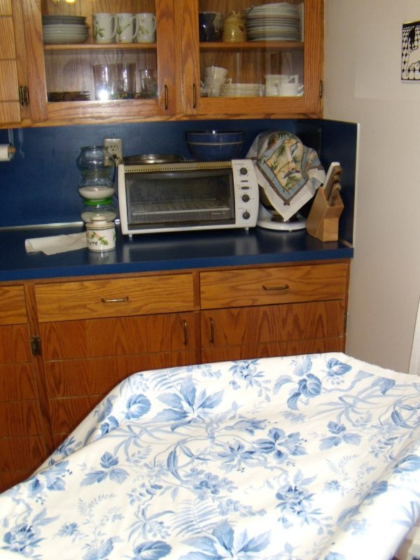 Kitchen with Fabric