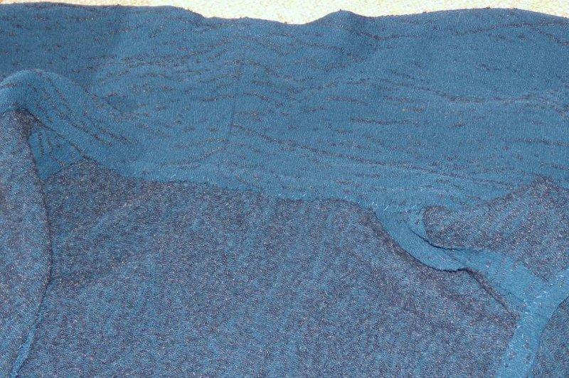 FSG#1960 Sleeveless Cardigan Inside Collar Finish