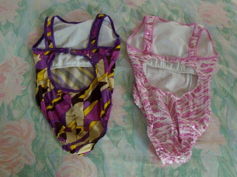 Violet Geometric & Pink Sequin Back
