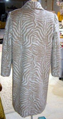 Cashmere Coat Back