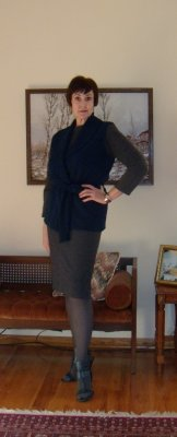 FSG#1960 Sleeveless Cardigan