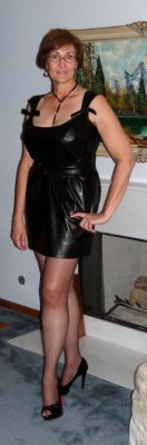 Pleather Front