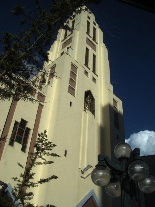 Church next to Plaza Hotel , La Paz