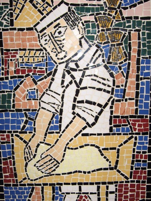 Mosaic - Baking Museum in Veurne