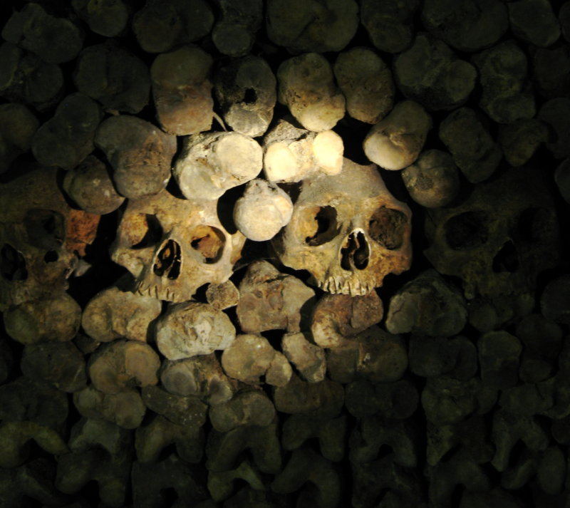 Look but dont touch - Catacombs