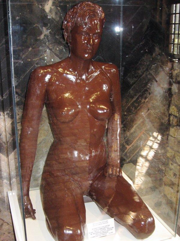 Chocolate lady - Baking museum - Veurne