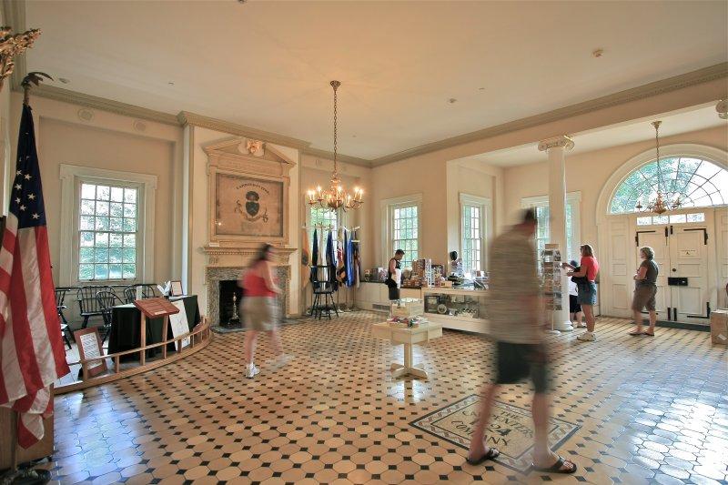 Carpenters Hall interior