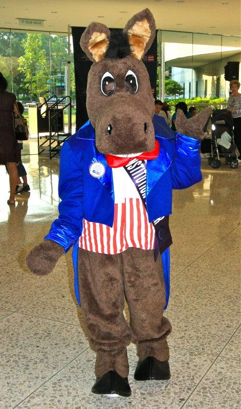 Democrat Donkey - Constitution Center