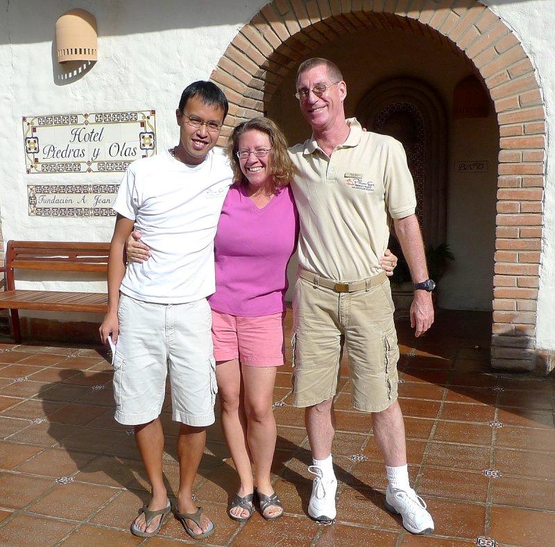 Cesar, Jiff, Chris