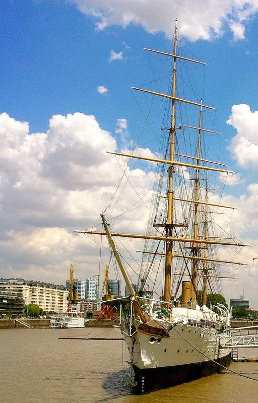 Fragata Pte. Sarmiento