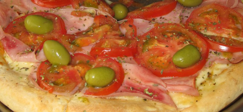 Neapolitan & Ham Pizza