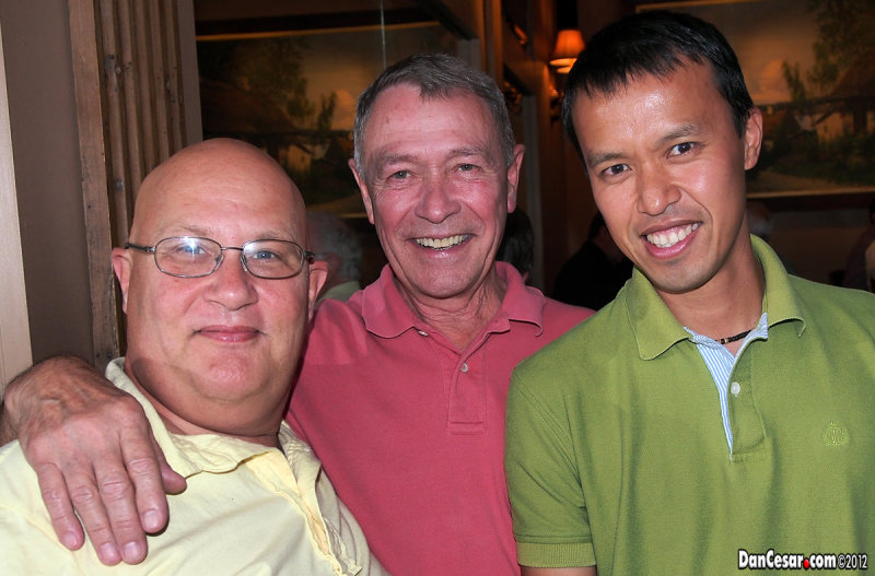 Don, Gene, and Cesar