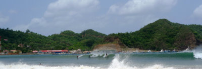 Surfing in the Bay of SJDS