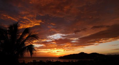 Sunset from Casa Jocote
