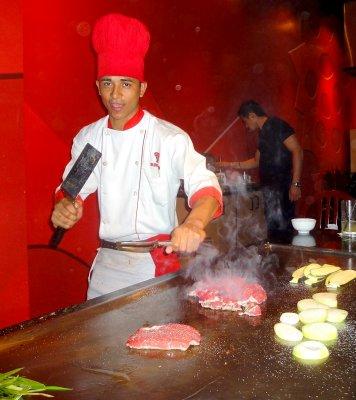 Chef at Bennihanas