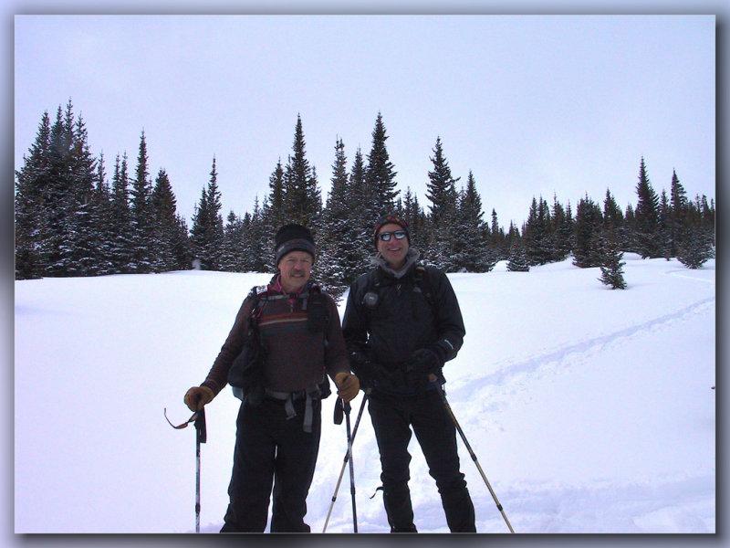 Mike and Jim, Sawmill Creek Trail