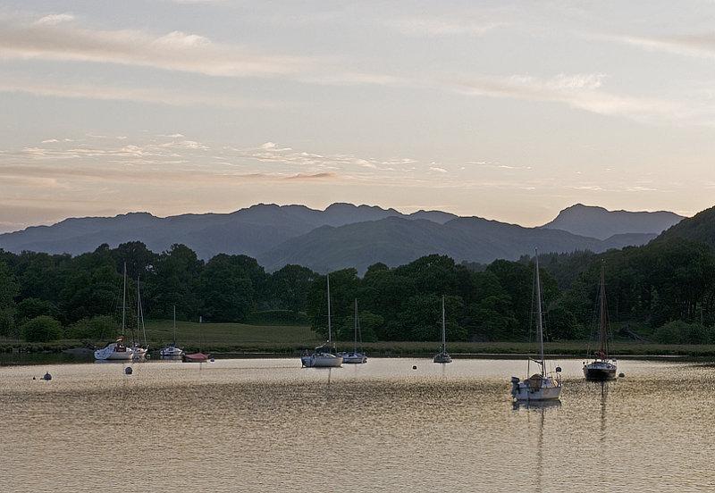 Lake Windermere After Sunset