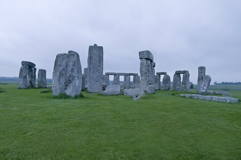Three Views Of Stonehenge