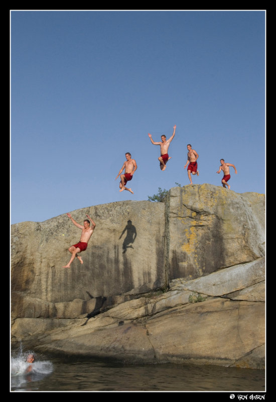 Magnus in the air