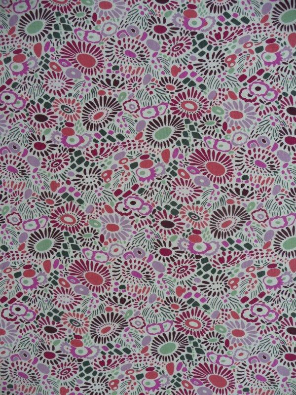 My fabric: Libertys Miall jersey