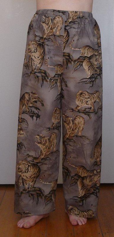 Tiger pyjama pants