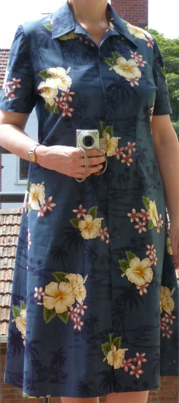 Finished dress, view A