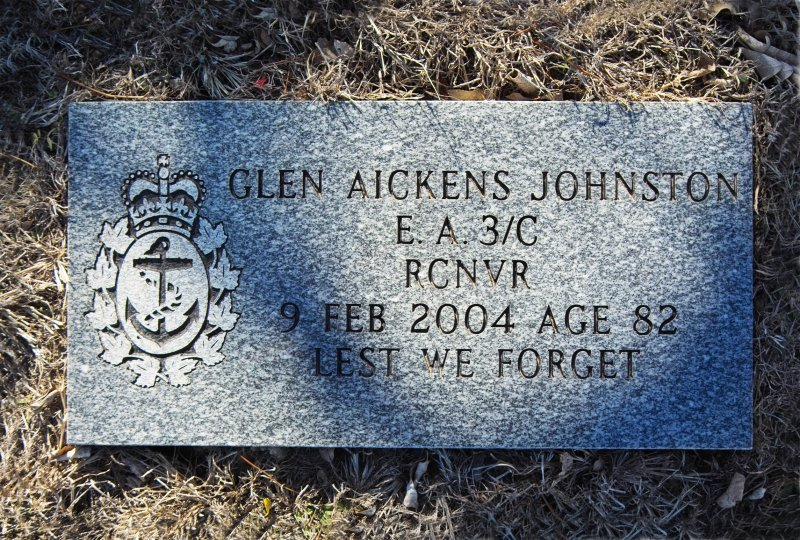 Dads Footstone - Military Service WWII