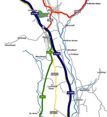 Map - Scotland - Johnston - Historical Locations