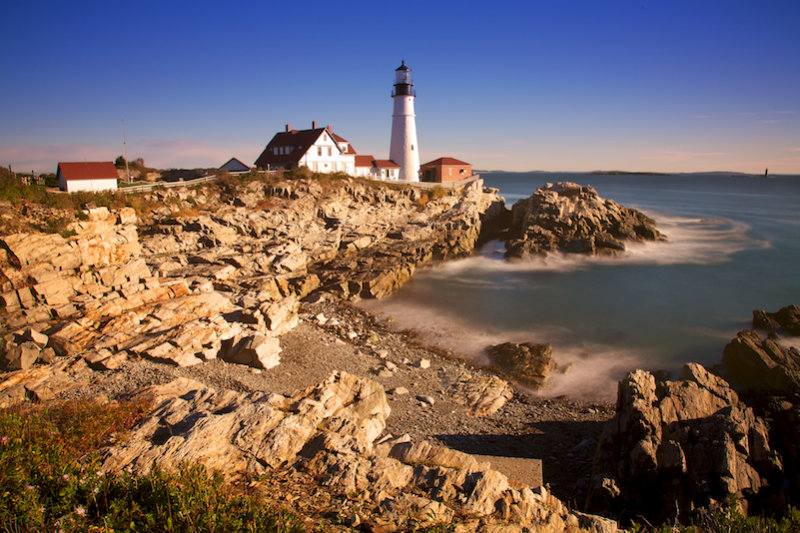 Portland, Headlight, Cape Elizabeth, ME