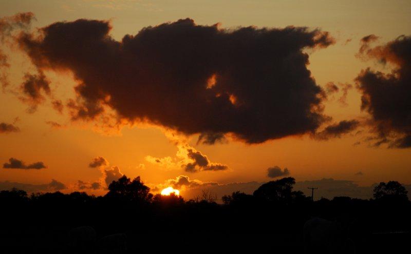 Yesterdays sunset