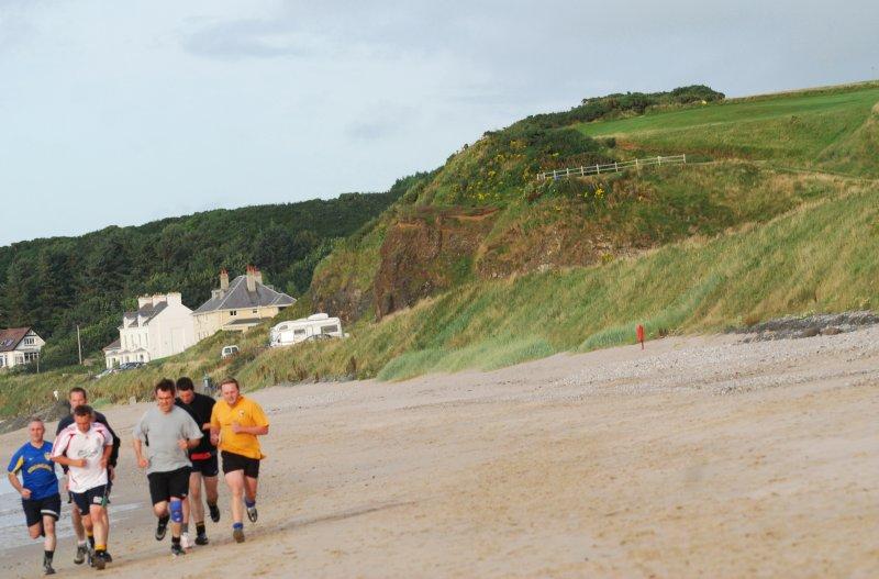 Training on the strand