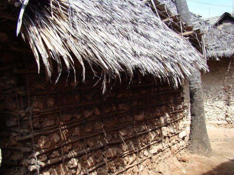 Swahili mudbrick house