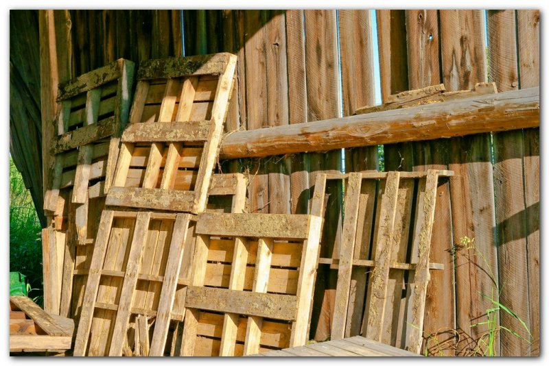 Pallets In The Barn