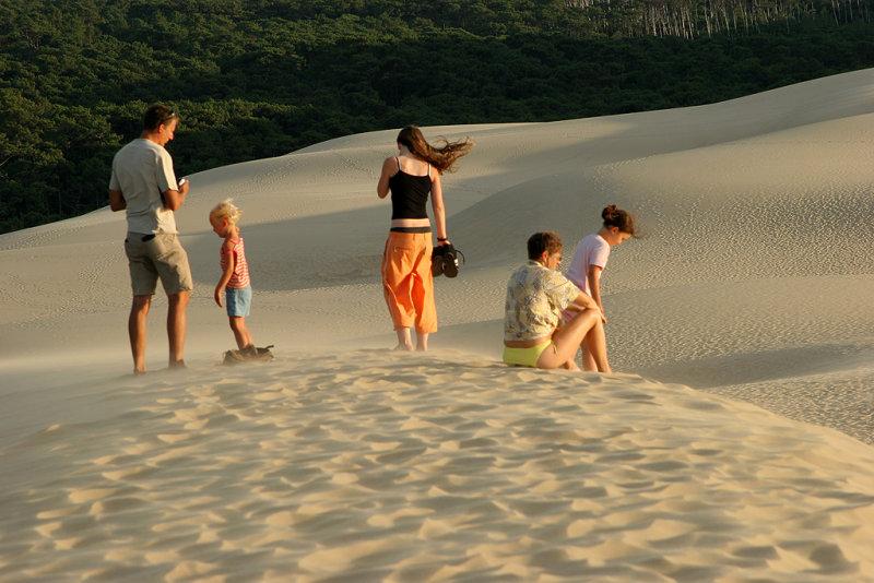 Découverte de la dune du Pyla située à lembouchure du Bassin dArcachon