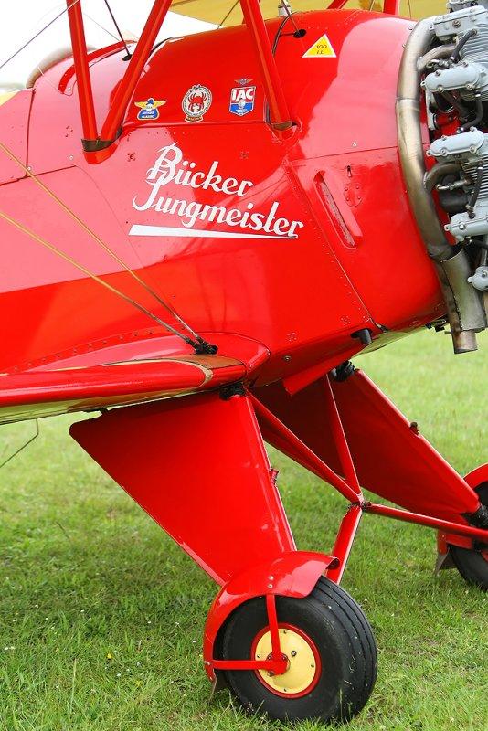 Meeting aérien de la Ferté Alais 2008 - Bücker Bu-133 Jungmeister