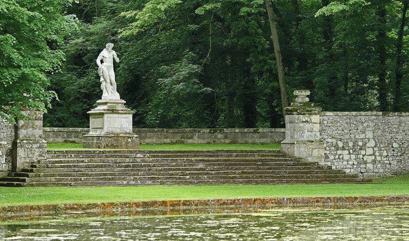 Visite du parc du château de Courances dans lEssonne