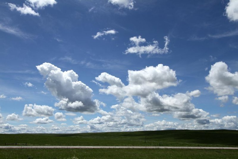 Highway Scene, South Dakota