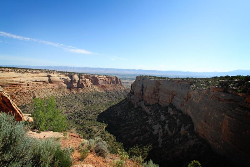 Cold Shivers Point, Colorado National Monument, Grand Junction, Colorado
