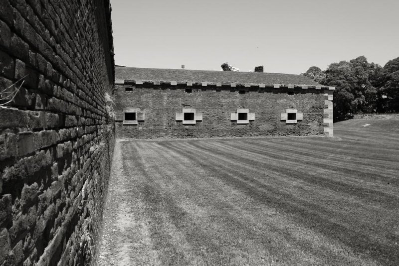 Walls, , Old Fort Niagara, Youngstown, NY