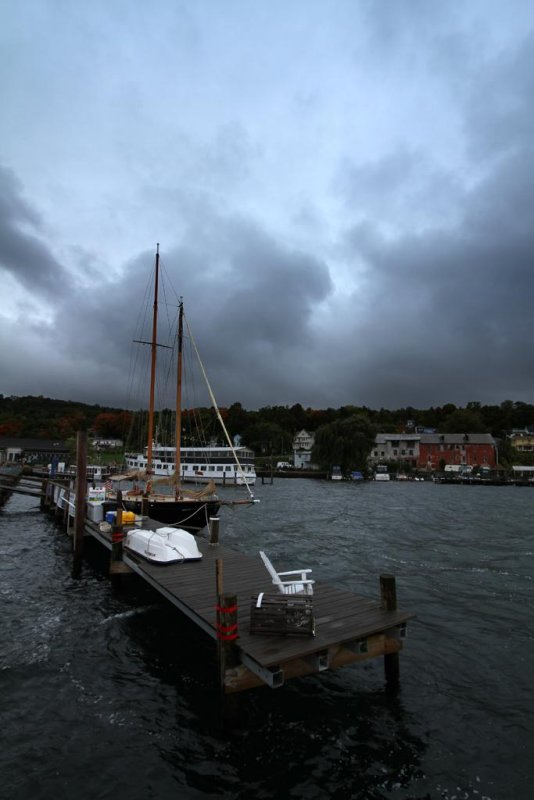 End of Season, Seneca Lake, Watkins Glen, New York